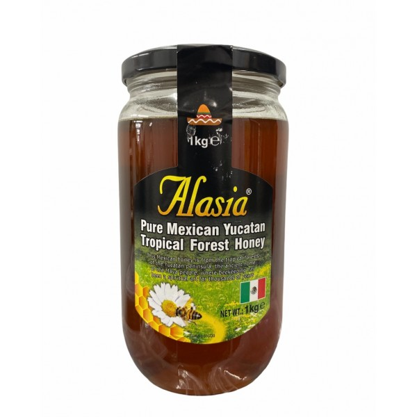 Alasia Pure Mexican Yucatan Tropical Forest Honey 1000g