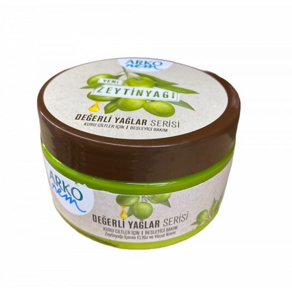 Arko Olive Oil Hand And Face Cream 250ml