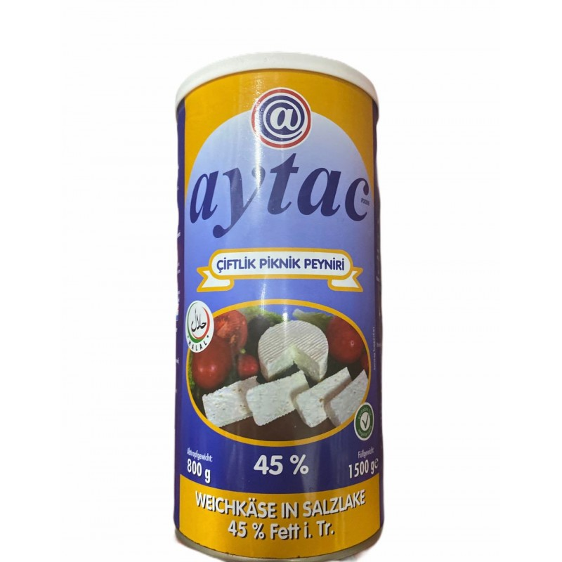 Aytac Farm Picnic Cheese 45%   800g