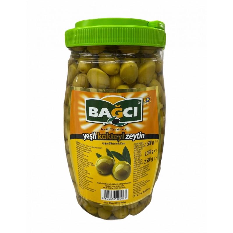Bagci Green Cocktail Olive 2.5kg