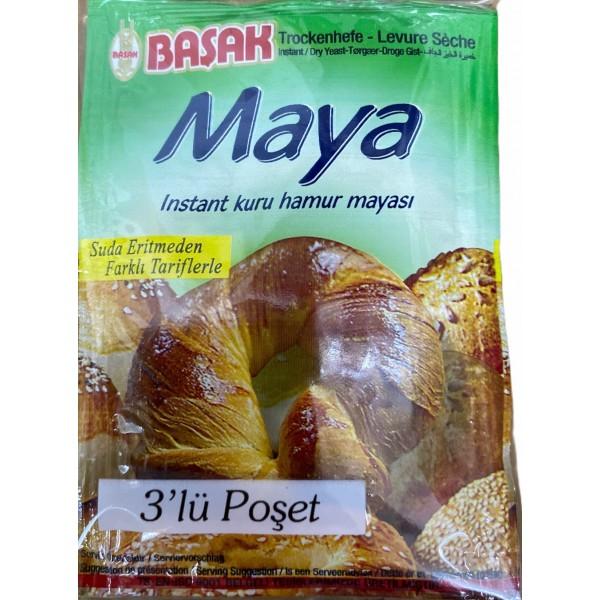 Basak Dry Bread Yeast 3x10g