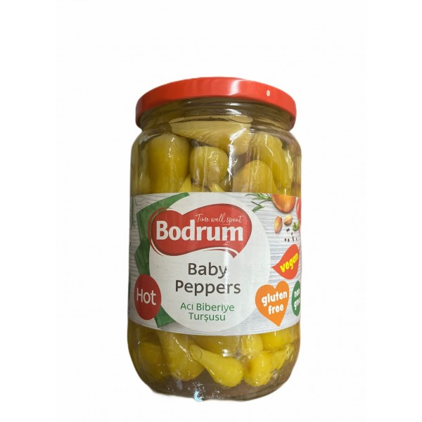 Bodrum Baby Peppers 640g