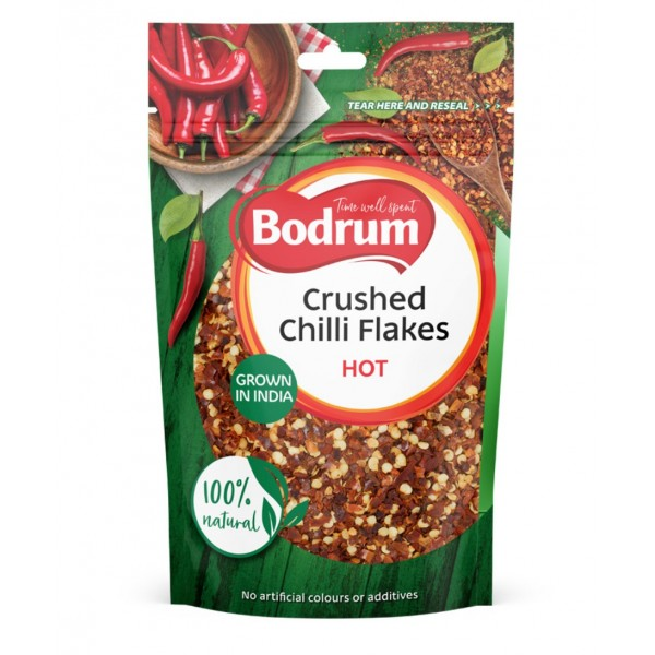 Bodrum Crushed Chillies 100g