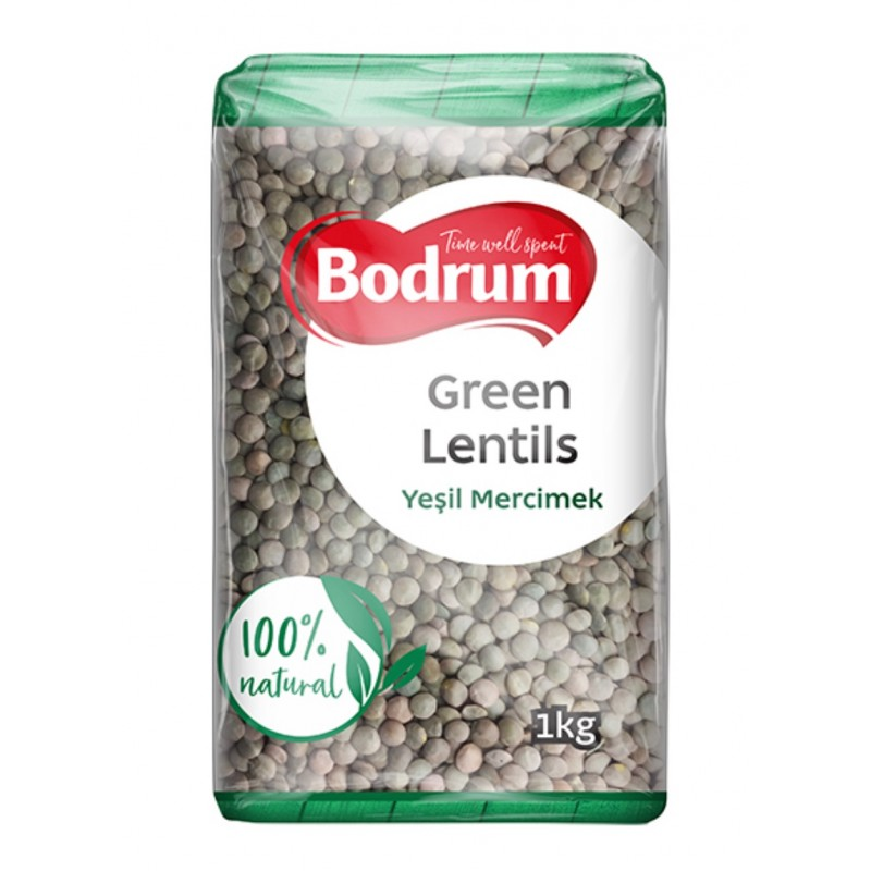 Bodrum Green Lentis 1000g
