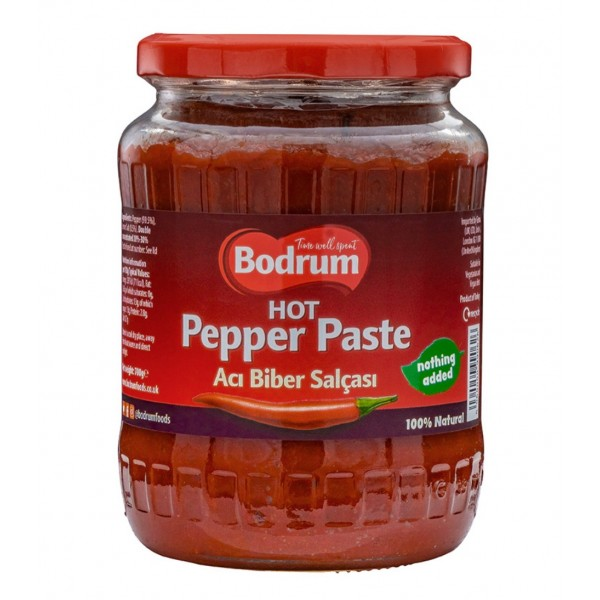 Bodrum Hot Pepper Paste  Net700g