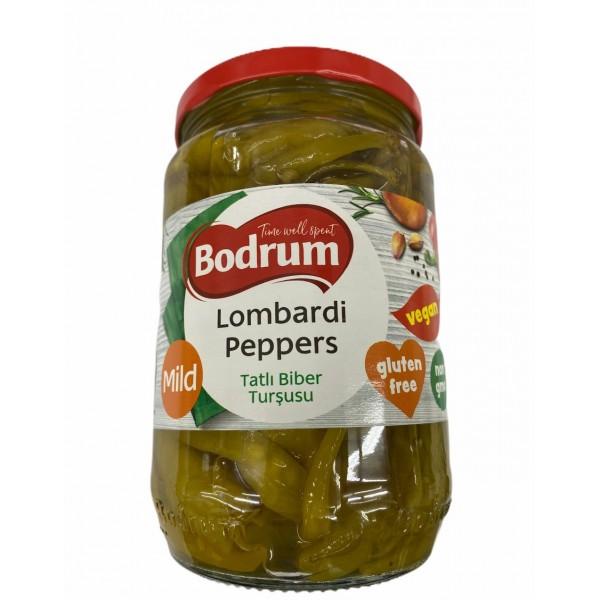 Bodrum Mild Lombardini Peppers 610g