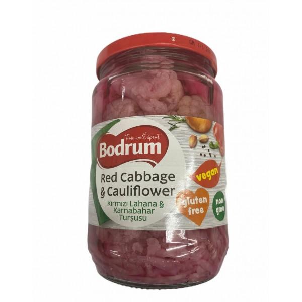Bodrum Red Cabbage And Cauliflower 680g