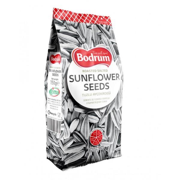 Bodrum Roasted Salted Sunflower Seeds  300g