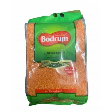 Bodrum Split Red Lentils 5000g