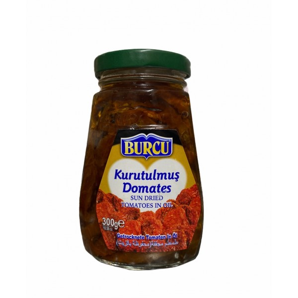 Burcu Sun Dried Tomatoes In Oil 300g