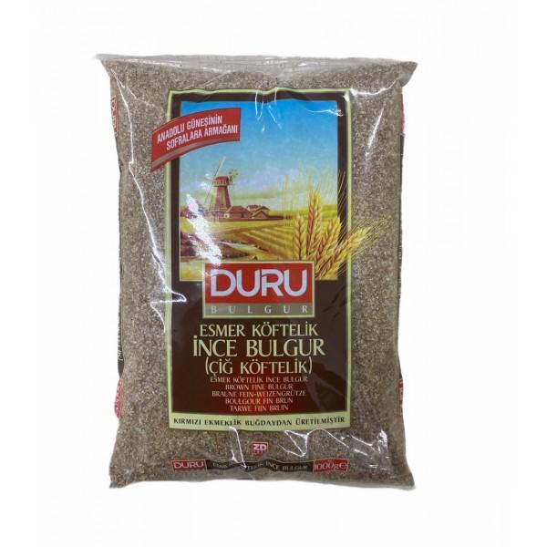 Duru Brown Fine Bulgur 1kg