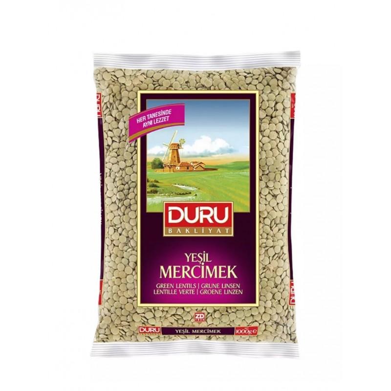 Duru Green Lentils 1kg