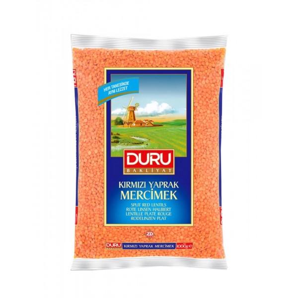 Duru Split Red Lentils 1kg