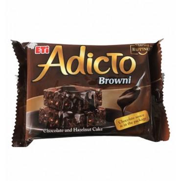 Eti Adicto Chocolate And Hazelnut Browni Cake 200gr
