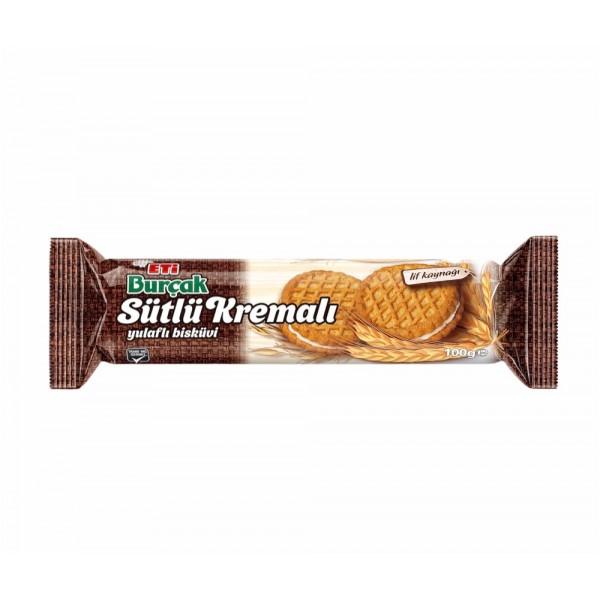 Eti Burcak Milky Cream Biscuit 100g