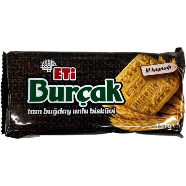 Eti Burcak Whole Wheat Bakery Biscuit 131g