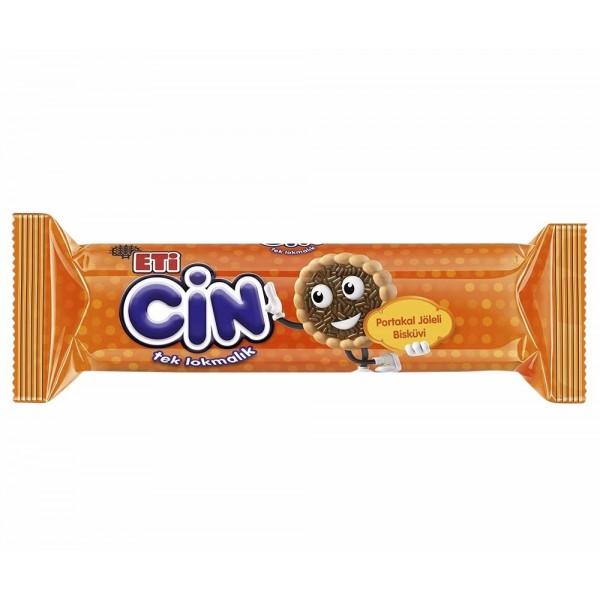Eti Cin Orange Jelly Biscuit 96g