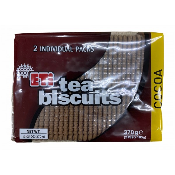 Eti Cocoa Tea Biscuits 370g