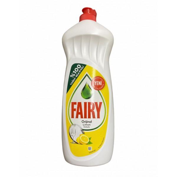 Fairy Original Lemon Scented Dishwashing Up Detergent 650ml