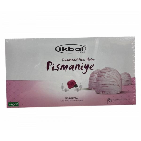 Ikbal Floss Halva With Rose 170gr