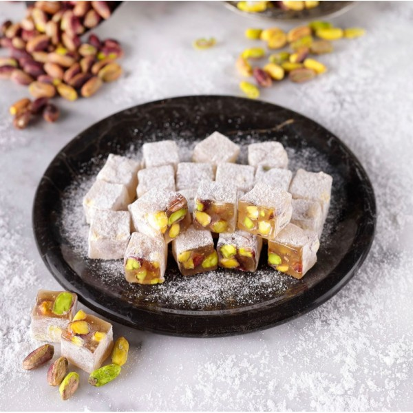 Ikbal Turkish Delight Double Roasted With Pistachio 350g