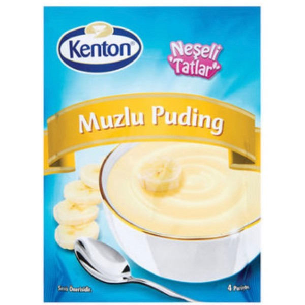 Kenton Banana Flavoured Pudding 100g