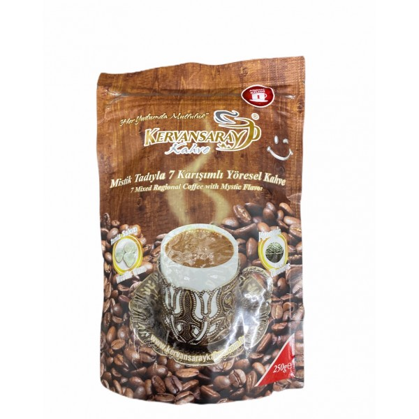 Kervansaray 7 Mixed Regional Coffee With Mastic Gum And Terebinth Flavor 250g