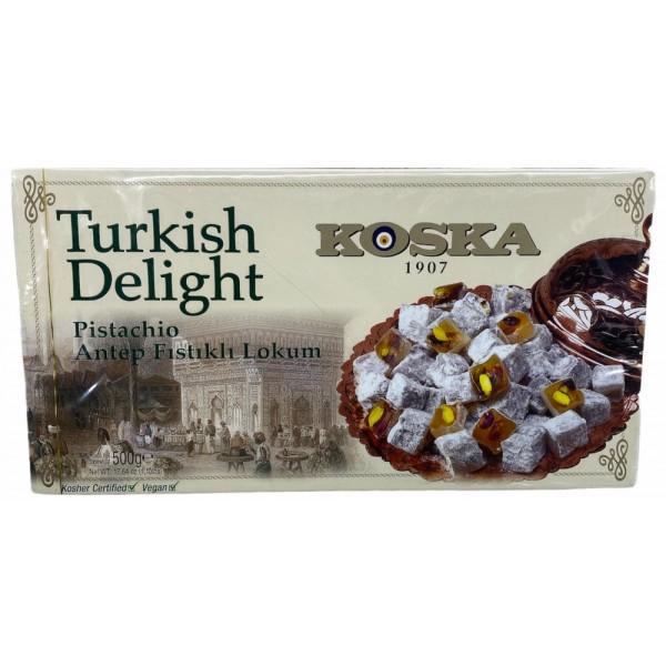Koska Turkish Delight With Pistachio 500g