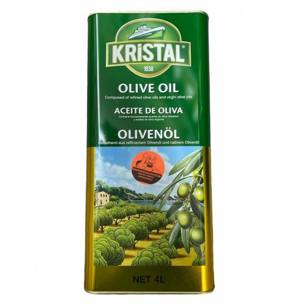Kristal Olive Oil 4ltr