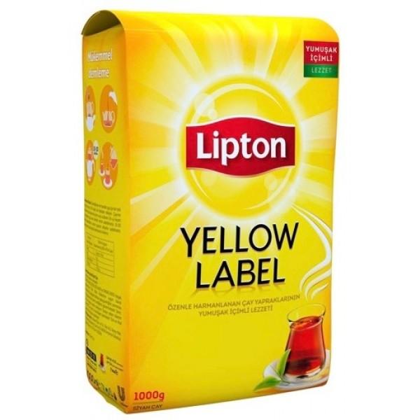 Lipton Yellow Label Black Tea 1000gr