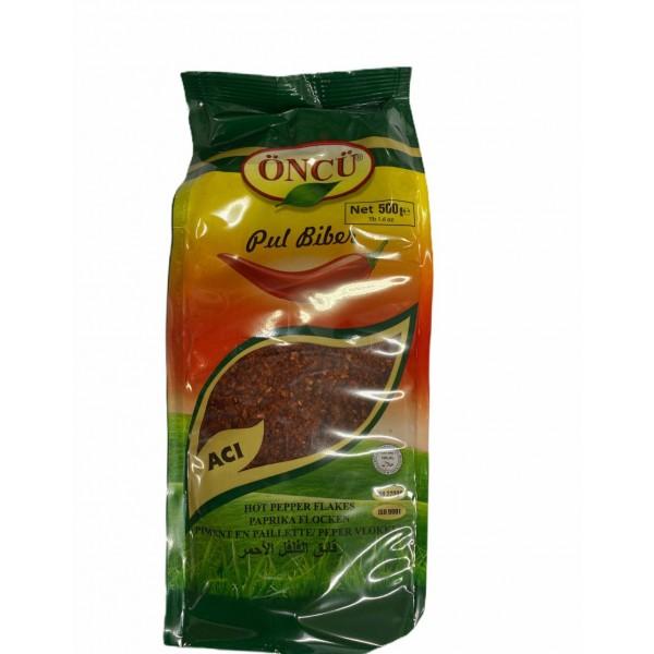 Oncu Hot Pepper Flakes 500g