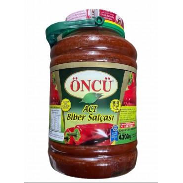 Oncu Hot Pepper Paste 4300g