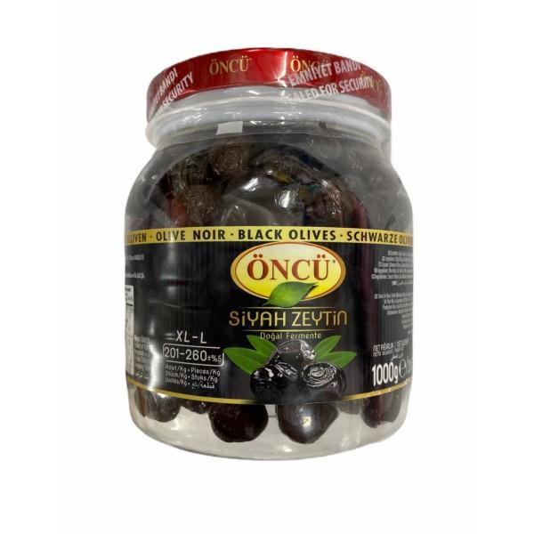 Oncu XL Black Olives 1000g