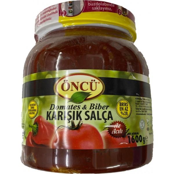 Oncu Tomato Pepper Mix Paste 1600g