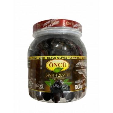 Oncu 5Xs Black Olives 1000g
