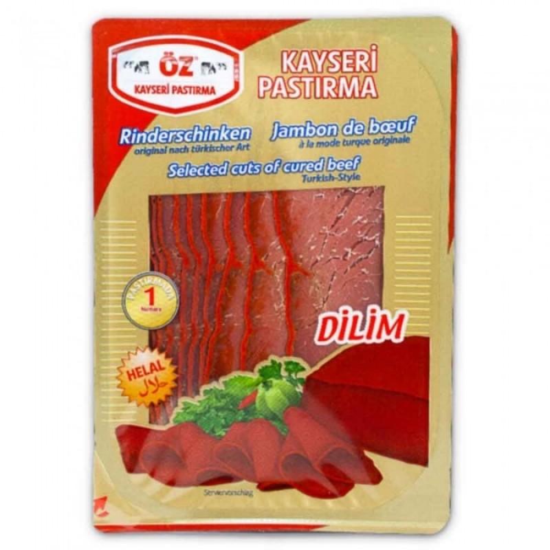 Oz Kayseri Sliced Pastirma/Bastirma/Basturma 100g
