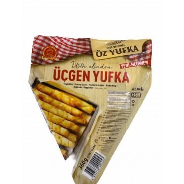 Oz Yufka Triangle Phyllo Pastry 360g 13oz