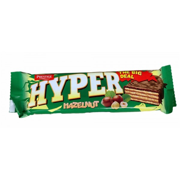 Prestige Hyper Hazelnut Wafer 55gr