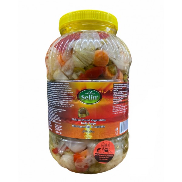 Selin Mixed Pickles 5000g