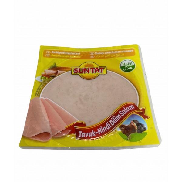 Suntat Turkey And Chicken Sliced Sausage 200g