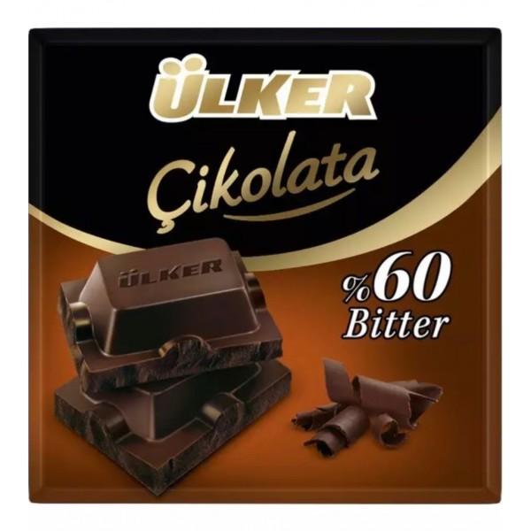 Ulker Chocolate %60 Bitter