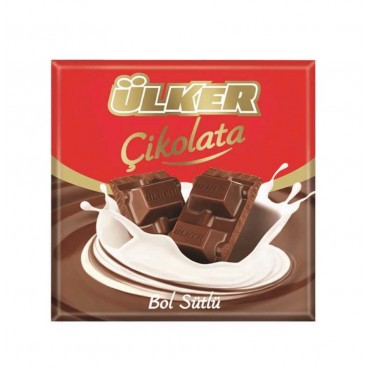 Ulker Chocolate With Extra Milk 60gr