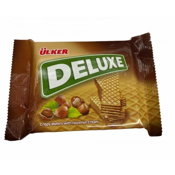 Ulker Deluxe Crispy Wafers With Hazelnut Cream 39g