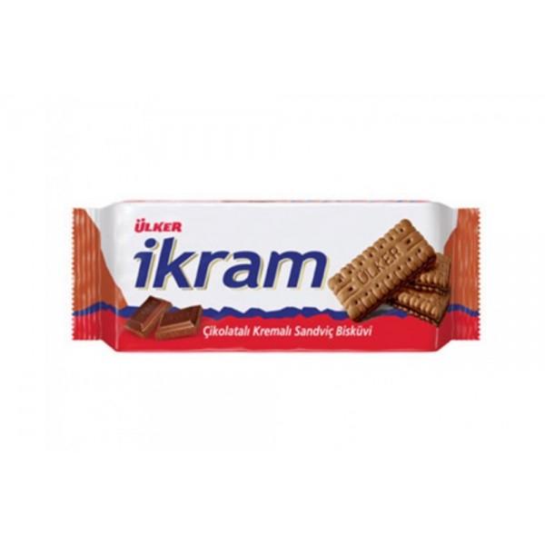 Ulker Ikram Chocolate Cream Biscuit